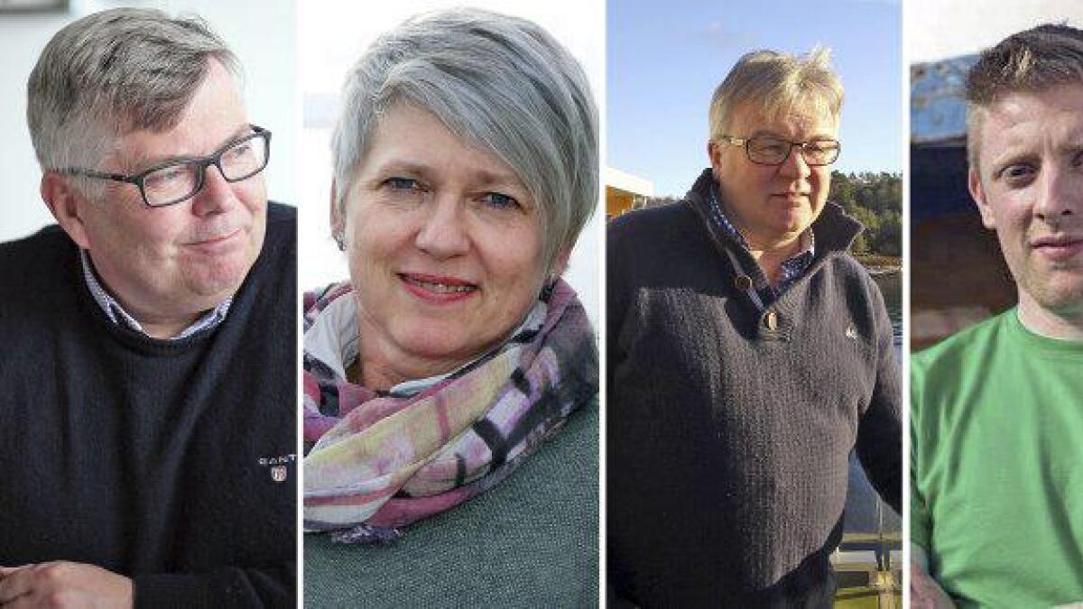 Ein av desse fire kan bli varaordførar i nye Bjørnafjorden kommune.