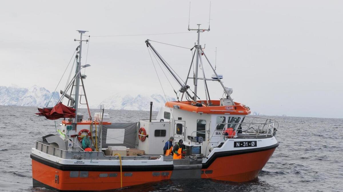 Fiskebåter skaper arbeidsplasser.
