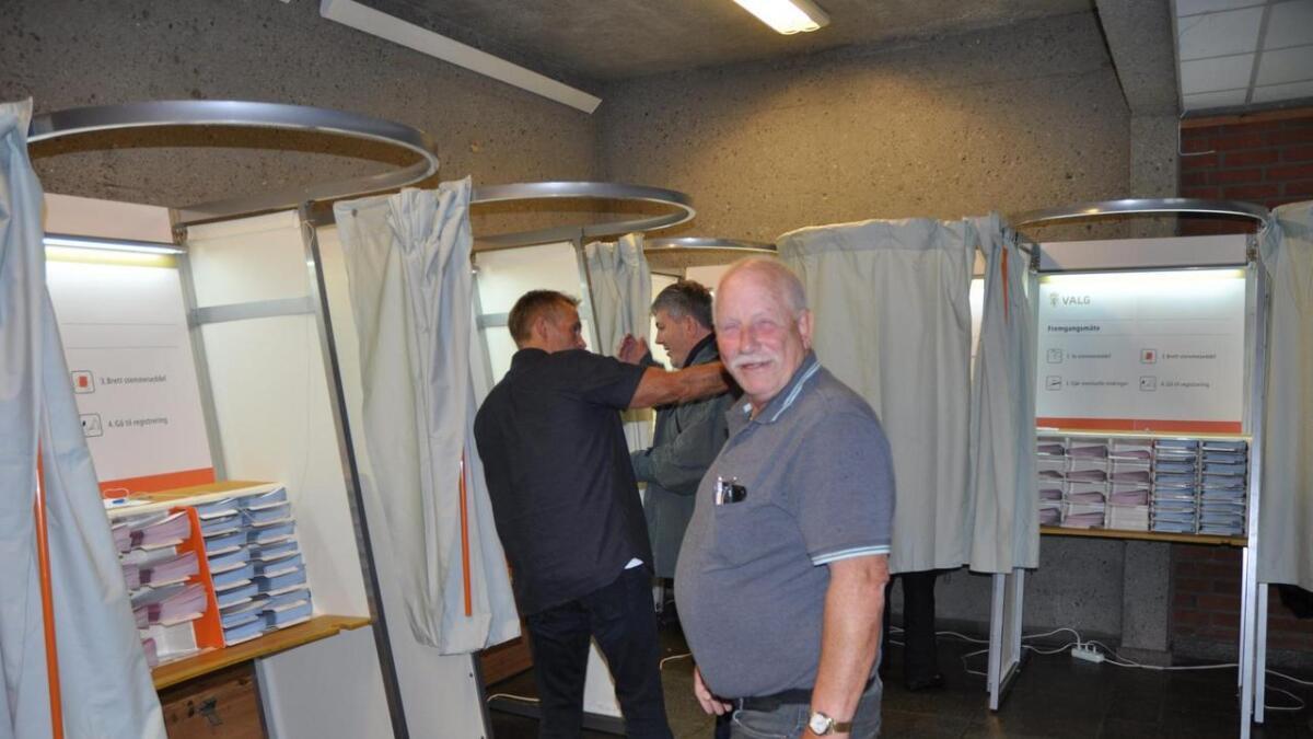 Oddbjørn Lunden har en rekke navn han skal gi ekstra stemme i årets valg.