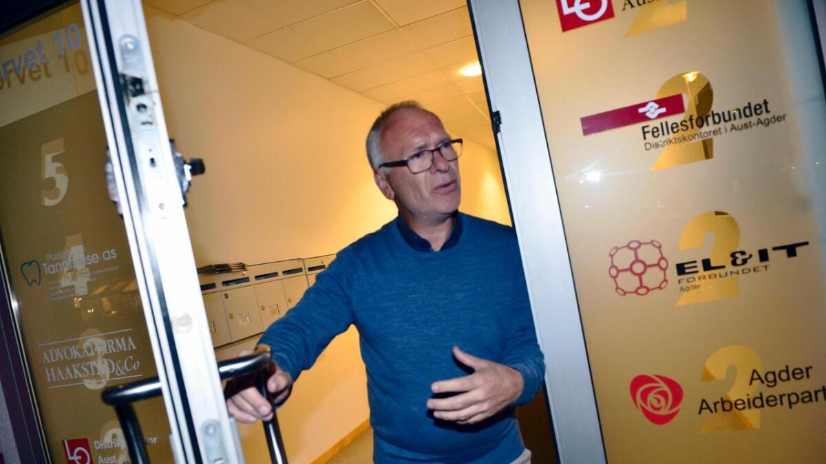 Forhandlingsleder Atle Svendal (Ap) forteller at samarbeidskonstellasjonen er godt i gang med å lage en politisk plattform for de neste fire årene.
