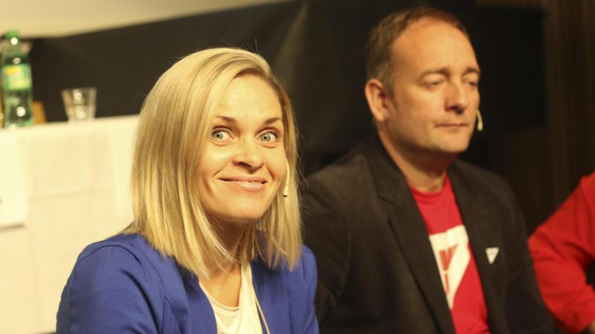 Marie Bruarøy er nøgd med hennar eiga og Høgres valkamp.