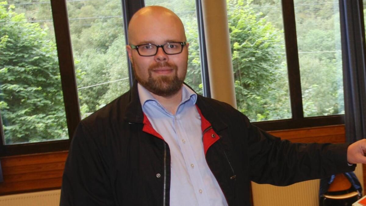Bjart-Magnus Ndogo Rosvold er listetopp for KrF ved kommunevalet.