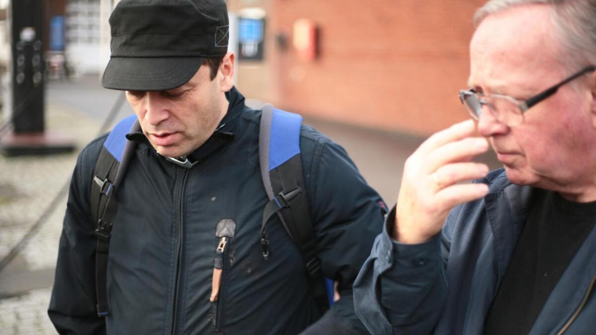 Hovudforfattar Ole-Jacob Abraham og medforfattar Terje Olsen er skuffa over Bergens Tidende.