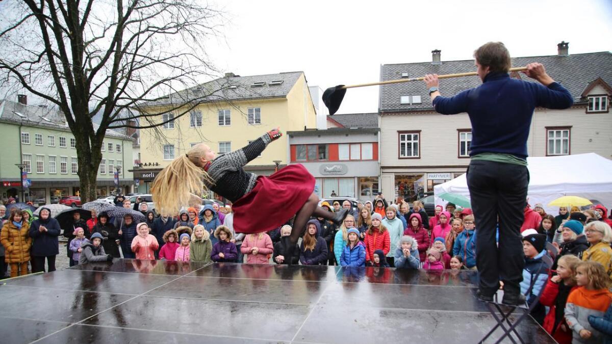 Osafestivalen vart kåra til den beste arrangøren i landet under Folkelarm i helga. Biletet er frå årets festival.