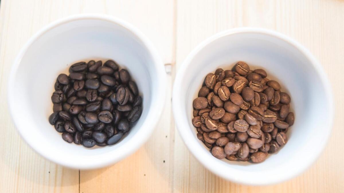 Kor lang tid ein brenner bønnene har mykje å seie for smaken på kaffien.