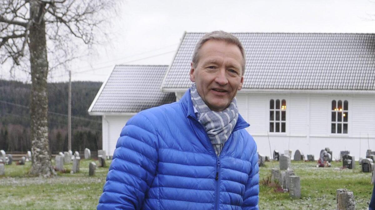 Kirkeverge Tor Tvethaug ser fram til å få en kvalifisert tilstandsrapport for kirkene.