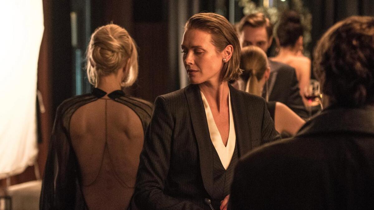 "Macody Lund spelar Säpo-sjefen Gabriella Grane i Hollywood-filmen ""The girl in the spiders web""."