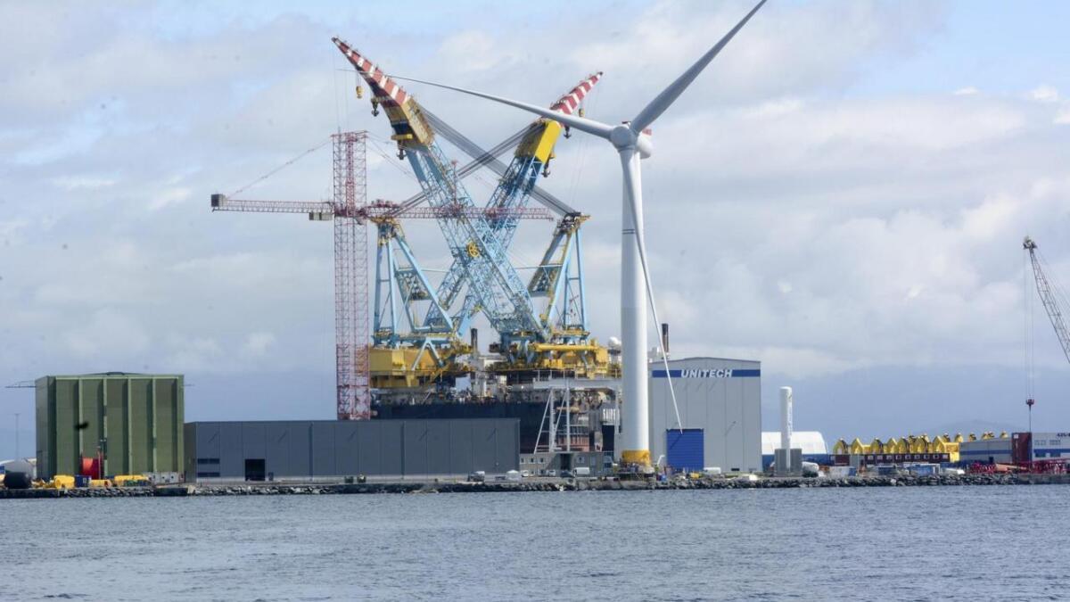 Kværner ASA har levert anbod på fleire vindkraftprosjekt, og skal levera fleire i tida som kjem.