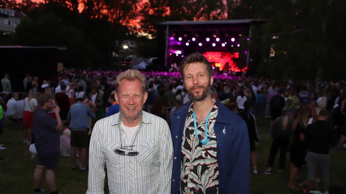 Toffen Gunnufsen og Mikal Vassbotn, her fra årets festival, satser mot ny Skral i 2020 – også etter konkursen i deleierens selskap.