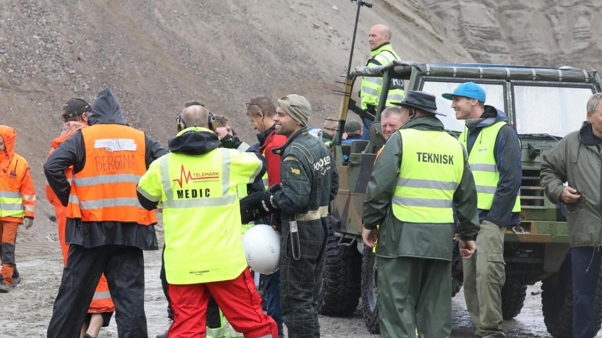 Joakim Knudsen måtte innse at dårlig oljetrykk ødela mye lørdag.