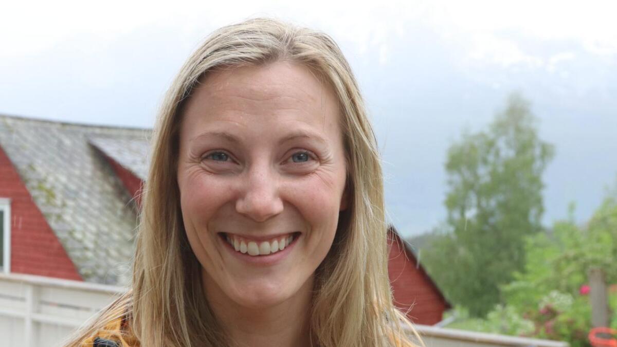 Benedicte Watvedt Skaug (31) er prosjektleiar for prosjektet som skal gjera at Voss får merket for berekraftig reisemål av Innovasjon Norge.