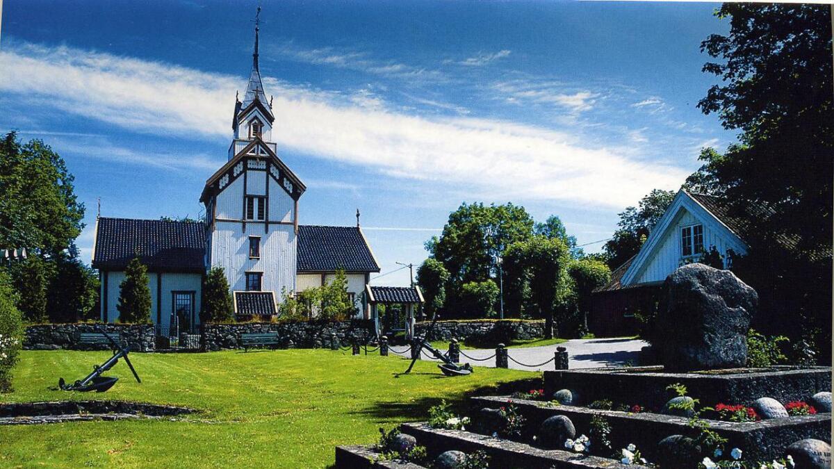 Flosta kirke er skriftlig nevnt første gang i 1467.