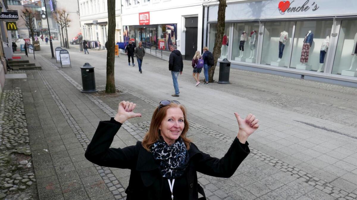 Hanne Gulbrandsen, her avbildet i Arendal By-sammenheng, går til ny sjefsjobb i Grimstad.