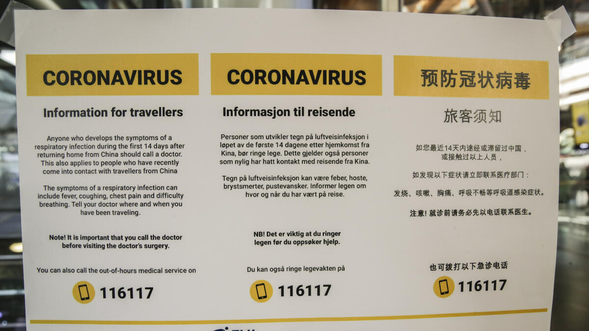 Helsedirektoratet Apner Infotelefon Om Koronavirus