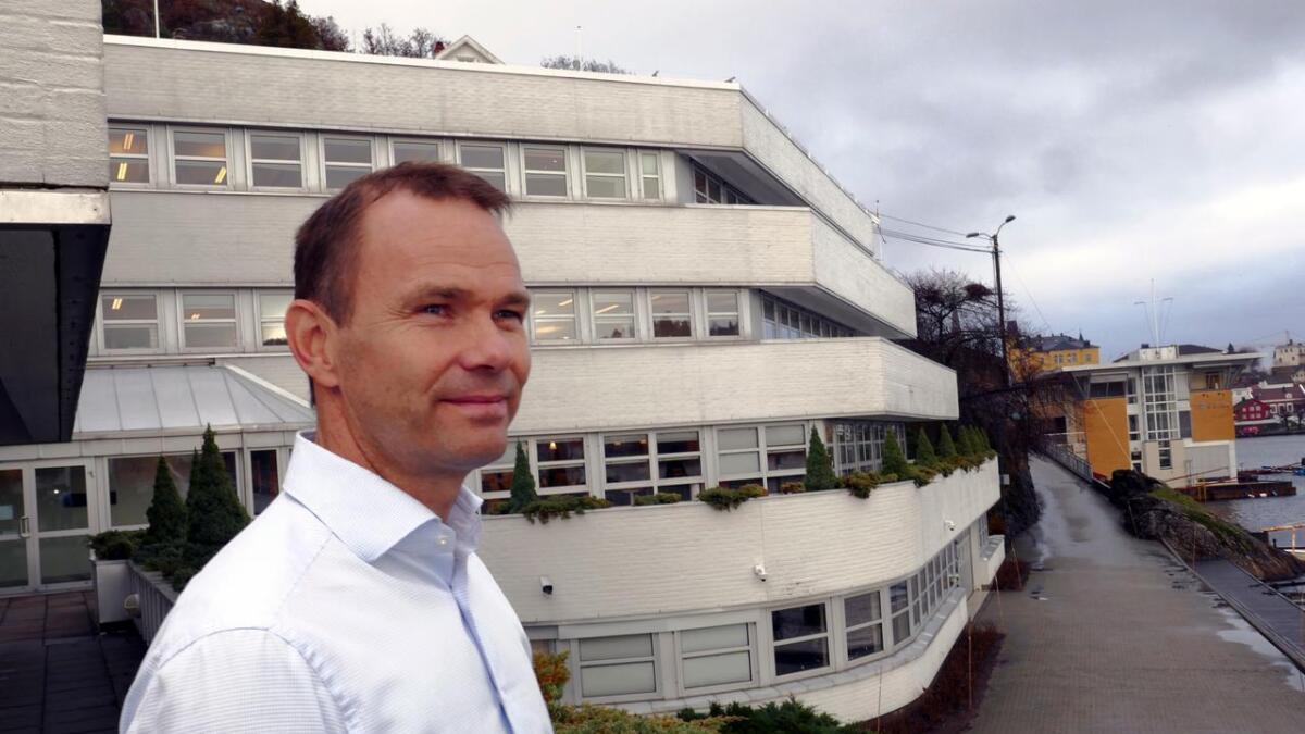 Gard og administrerende direktør Rolf Thore Roppestad har de beste bunnlinjeresultatene, selv om kostnadene ved å drive fra Arendal er høyere enn hva konkurrentene opererer med.