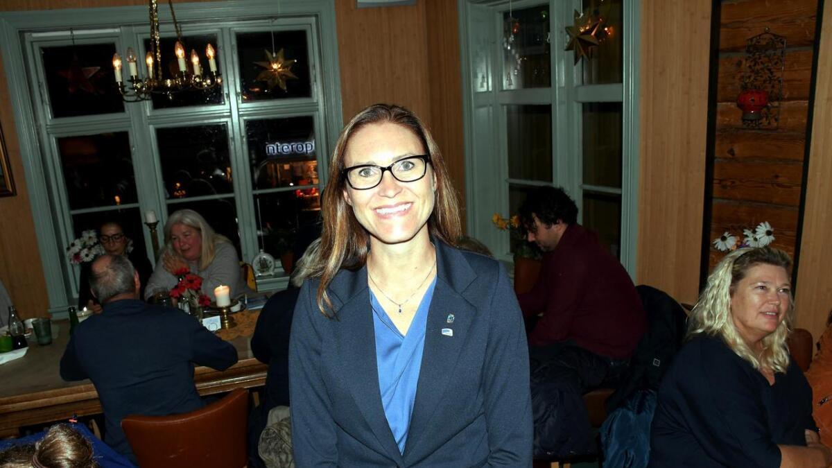 Som en av valgets desiderte vinnere, er Beate Skretting aktuell som ordfører.