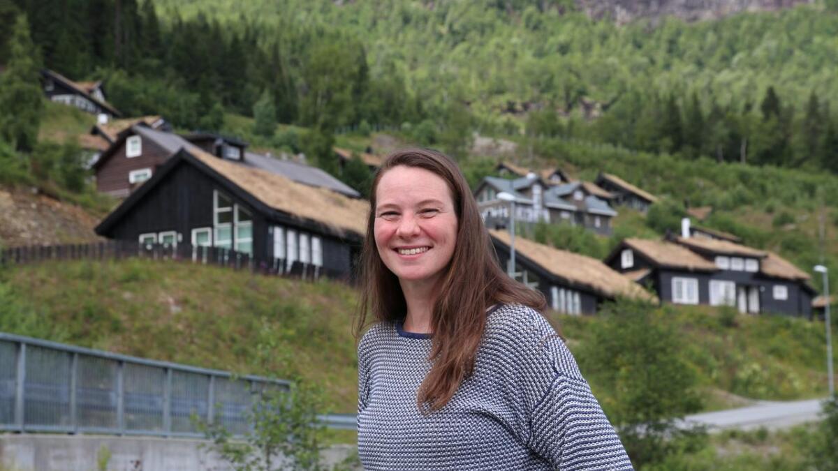 Anita Nordeide er fascinert av hyttebygda Voss, og har forska her sidan januar i år.