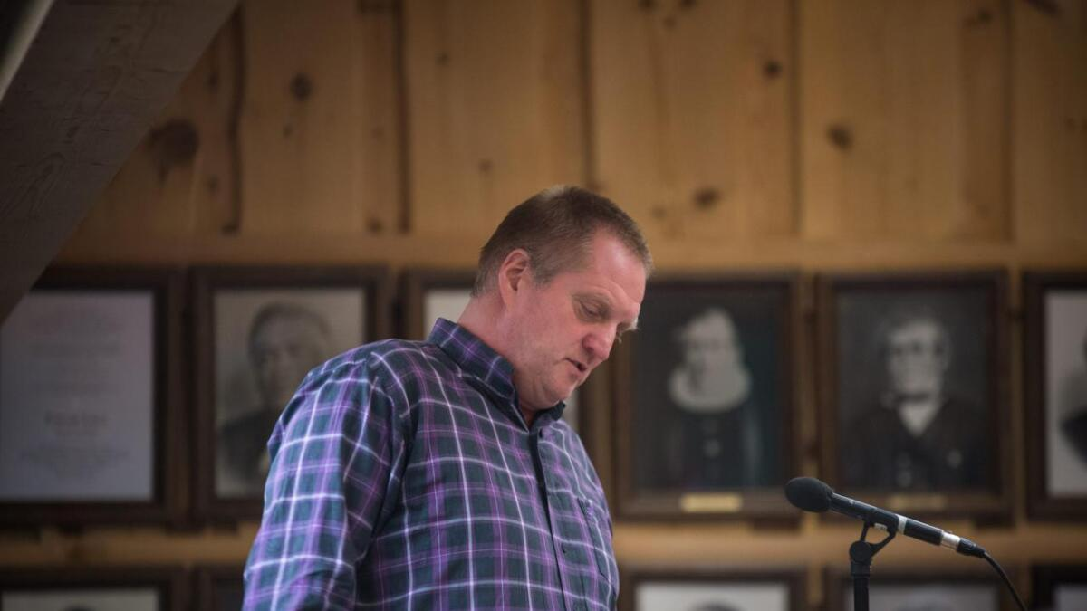 Jan Kattenberg og Gol Venstre er det partiet i Gol som seier klarast nei til hyttebygging på Golsfjellet.