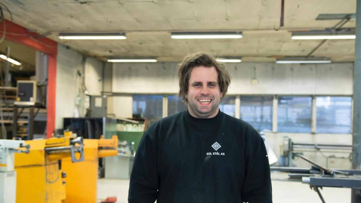 Knut Bjerkerud (30) har kjøpt alle aksjane i Gol Stål AS og tatt over som dagleg leiar.