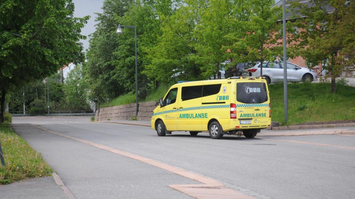 To personer kranglet ved Årnes stasjon torsdag ettermiddag.