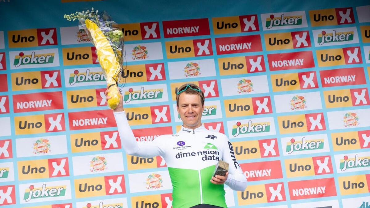 Edvald Boasson Hagen tok sin første seier i Tour of Norway torsdag.