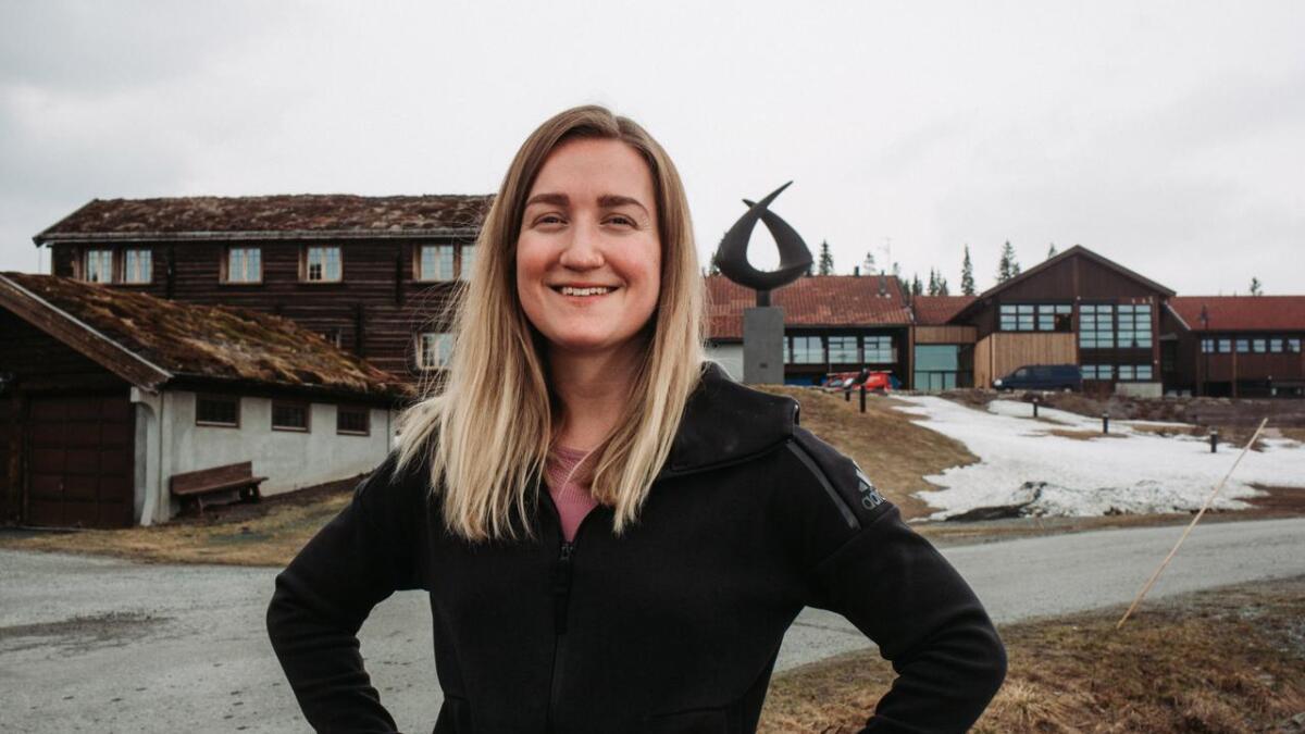 Her jobbar Mari på ein av dei største arbeidsplassane i Vest-Telemark