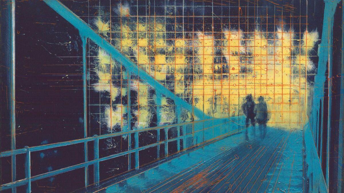 Mens Kunstverket viser etsninger fra serien «Panorama», åpner det en utstilling på Galleri Haaken neste torsdag, hvor Frank Brunners nye oljemalerier vises fram.
