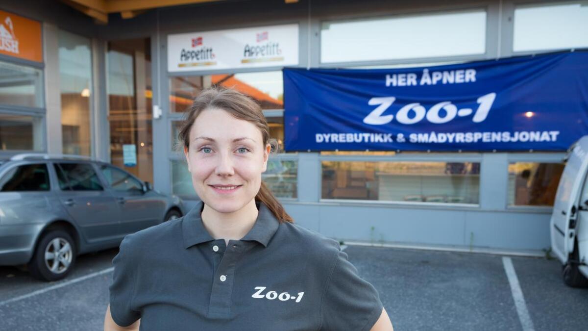 Daglig leder Jannike Ånjesen i Zoo-1 gleder seg til å åpne den nye butikken på Stoa lørdag.