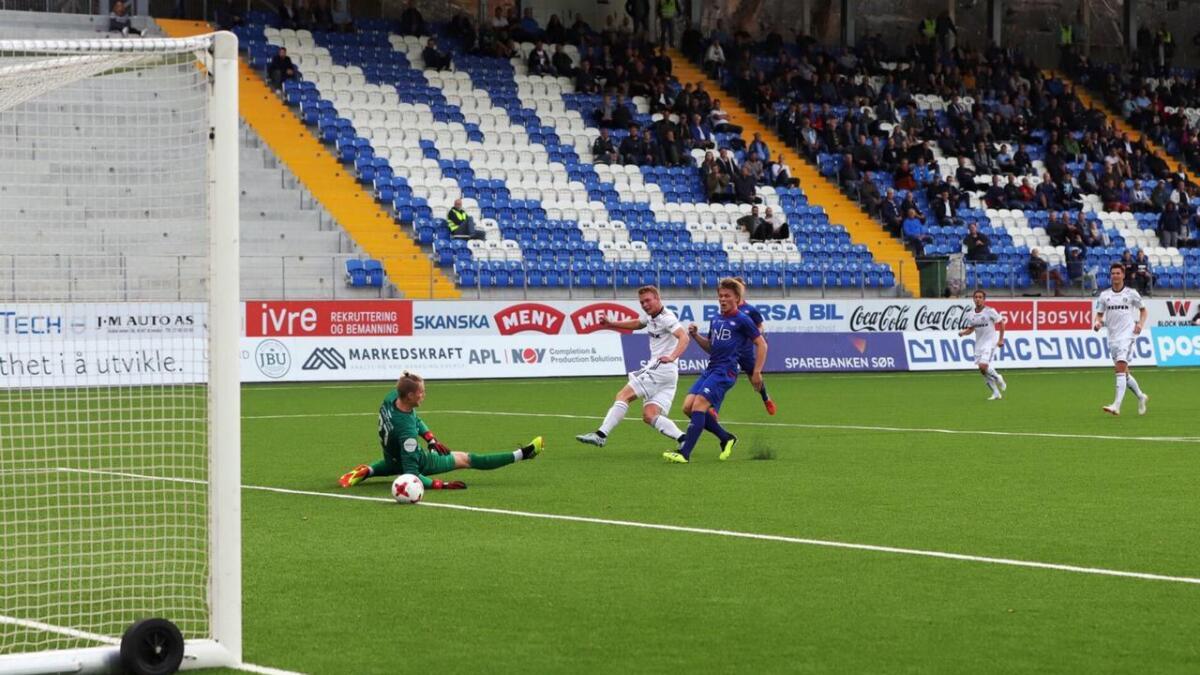Fabian Stensrud Ness  Arendal Fotball - Vålerenga 2  3.9.2018