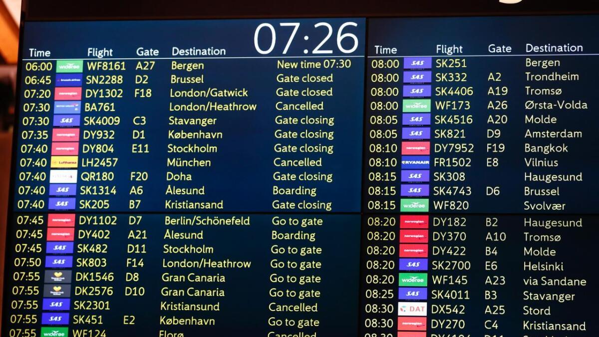 Pilotene og SAS må møte hos Riksmekleren onsdag. Om de ikke blir enige innen fredag blir tre av fire fly stående på bakken.