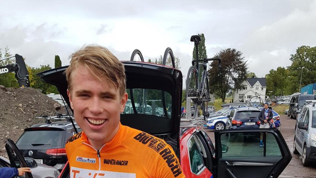 Oskar Myrestøl Johansson (17), her under Roserittet i 2018.