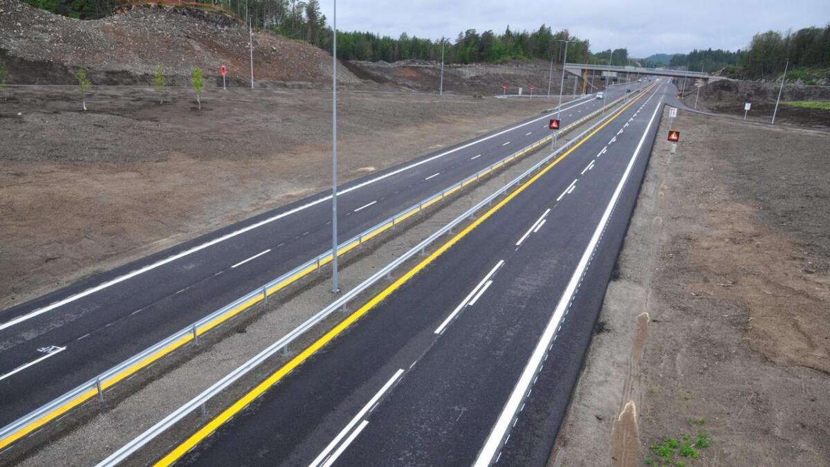 Den nye E18 fra Arendal til Tvedestrand holder en helt annen standard enn veien fra Grimstad til Arendal.sph