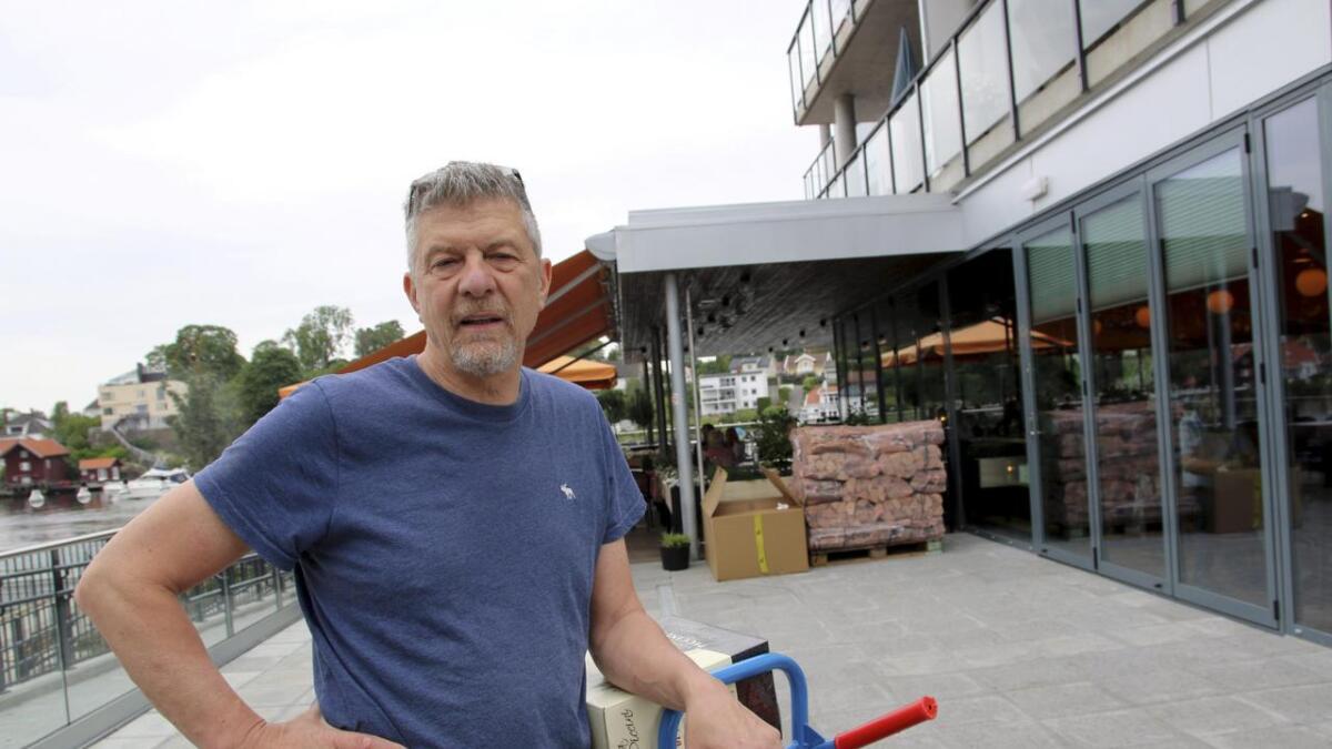 Robert Lind er tindrende klar på at det er overetablering i restaurantbransjen i Porsgrunn.