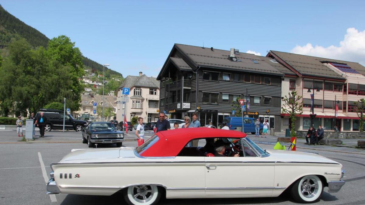 Fyrsteplassen i publikumskonkurransen gjekk til ein Mercury Monterey 1963-modell, eigd av bergensaren Rolf Askeland.