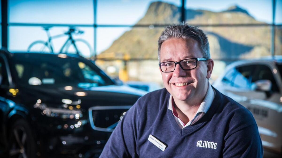 Viggo Henningsen forteller at det er populære biler som er med i høstkampanjen.