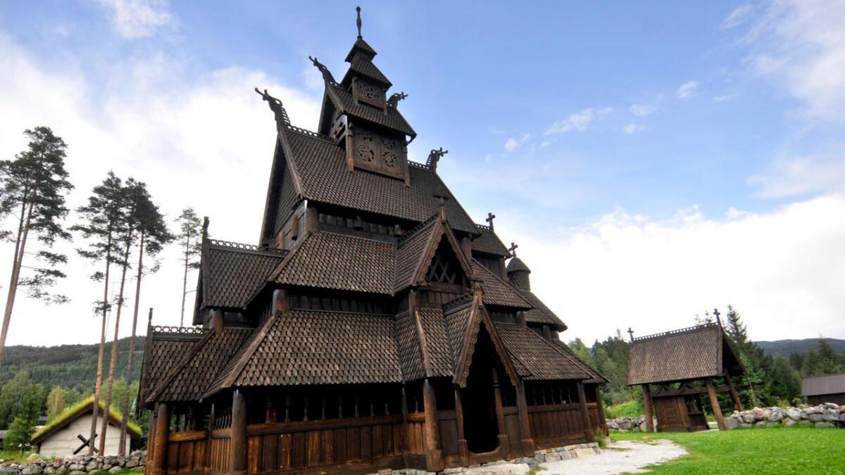 Kyrkja på Storøyne i Gol er ein kopi av Gol stavkyrkje på Bygdøy.