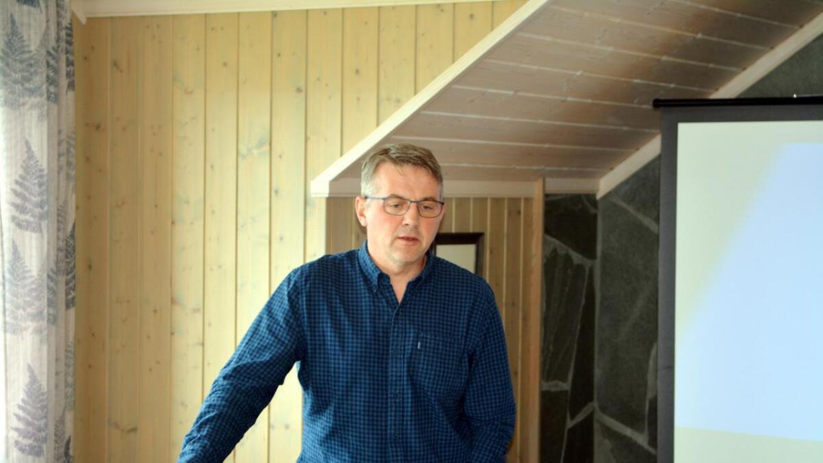 Kommunalsjef for skole, barnehage og kultur, Jarle Ragnar Meløy.