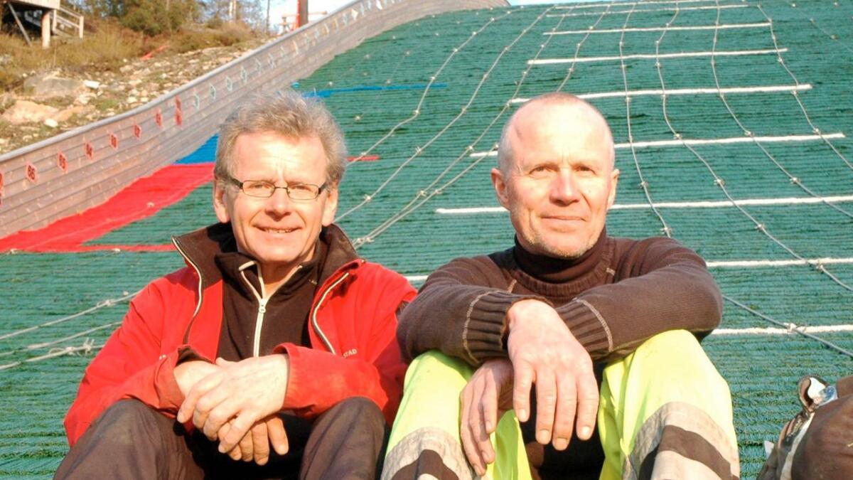 Torsdag er det første Norgescup på Sandrip. Steinar Møvik er primusmotor.