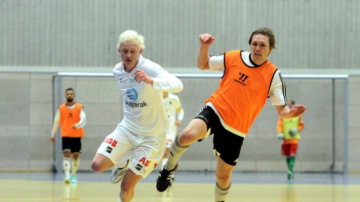 Odds juniorer vant finalen, og Erik Rosland ble kåret til beste spiller i romjulscupen i fotball.