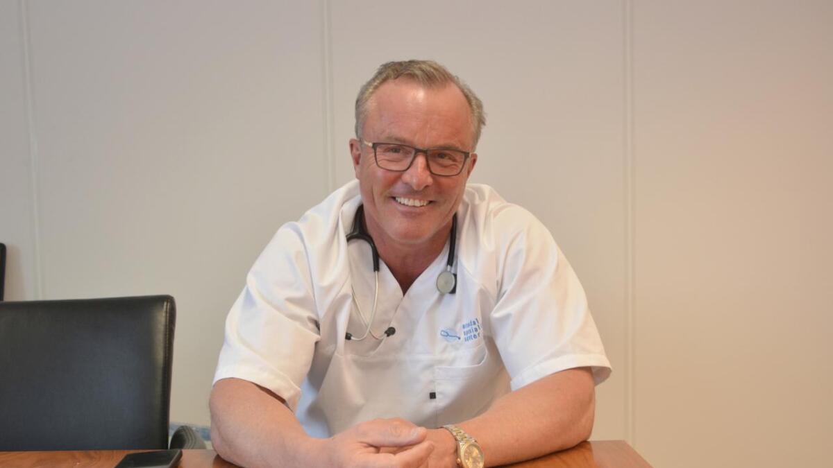 Håvard Skjærvik liker ikke snakke om penger. Derimot snakker han entusiastisk om pasienter og behandlingsopplegg.