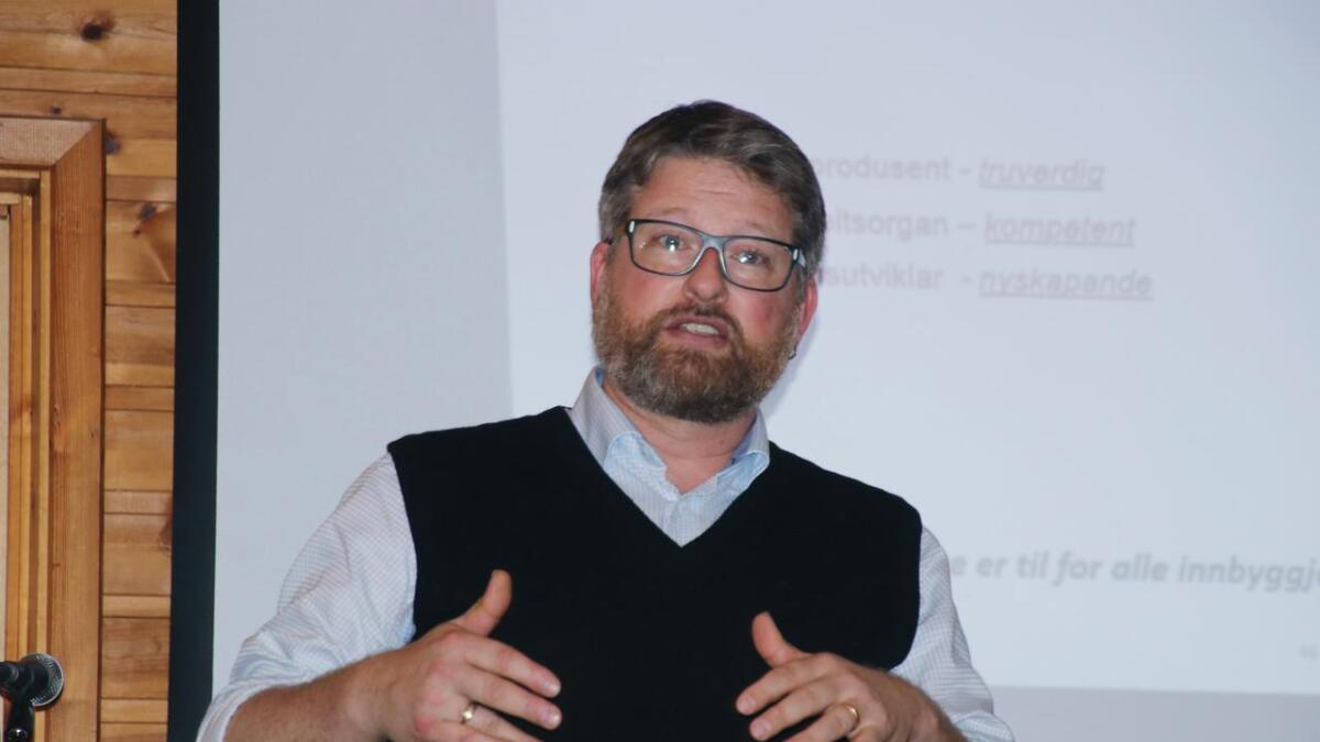 Jørn Øyrehagen Sunde skal 19. januar halda Aarebrot-førelesinga i Bergen.