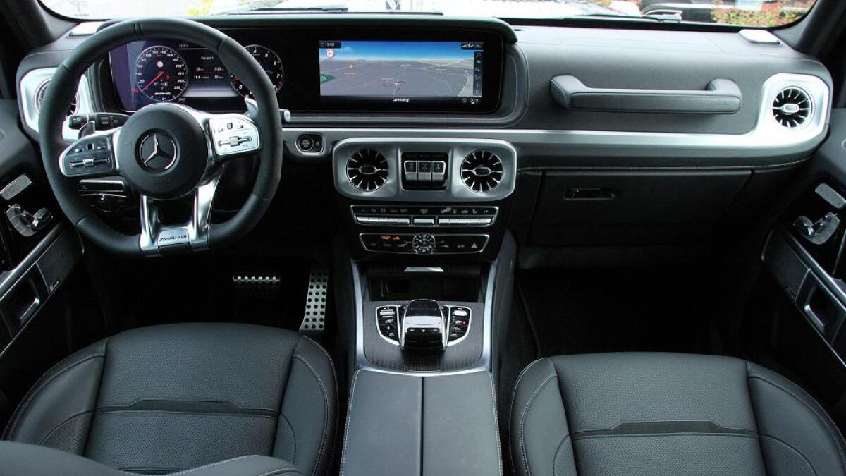 Bilen har også fått sin versjon av det nye Mercedes-interiøret. Lekkert og funksjonelt.