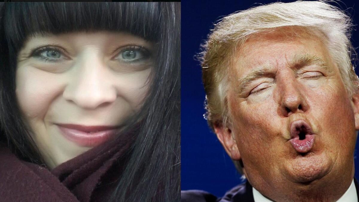 """Torild Helene Winther Tjønnås mener NRK Supernytt har skremt barna med Trump som et """"monster som når som helst kan trykke på den røde knappen"""""""