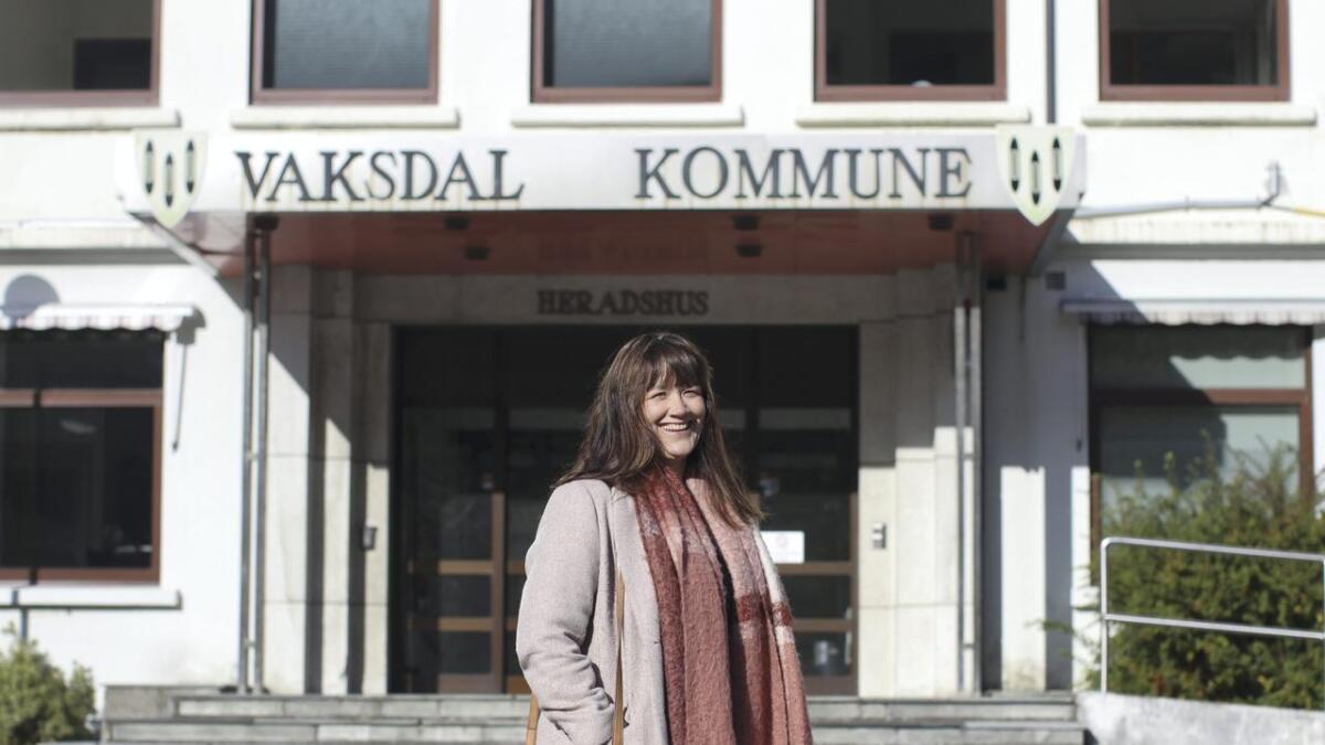 Hege Eide Vik song budsjettarbeidet i gang måndag.