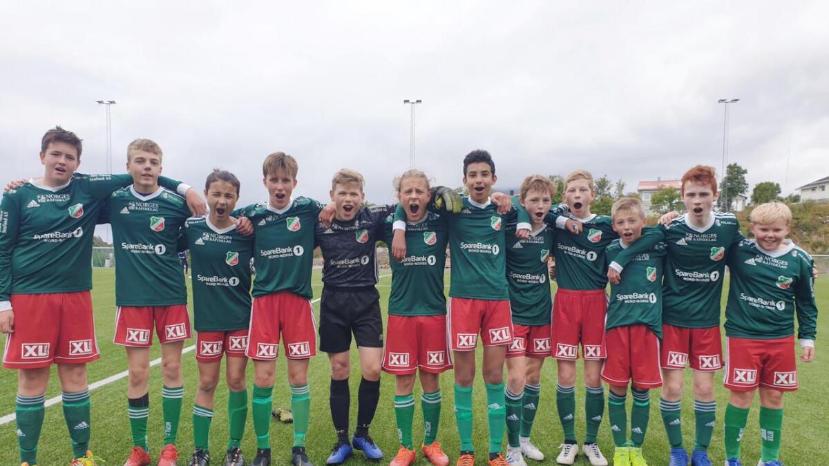 IL Morilds G14-lag gikk helt til topps i Skårungen Cup i Svolvær i helga.