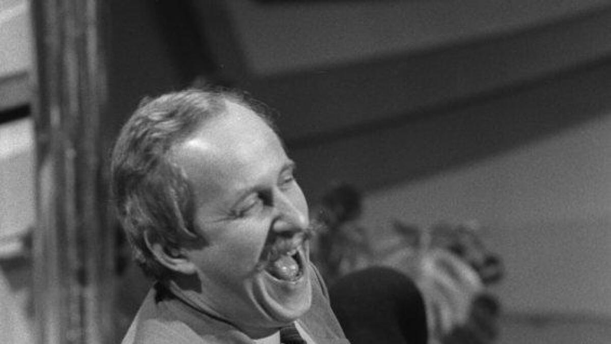 Rallystjerna Martin Schanche var gjest hjå Tore Johannessen i Lørdagsbilaget. 1985.