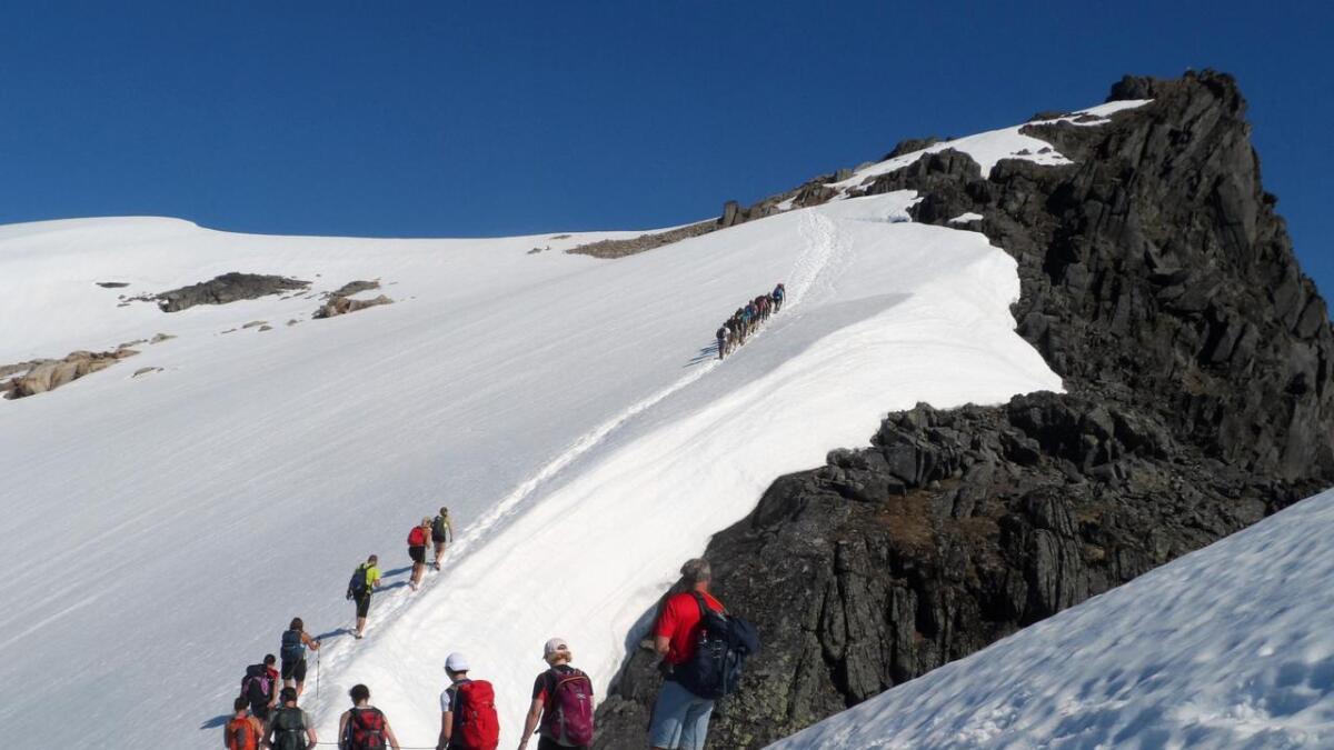 Det er stor sjanse for at Møysalen blir et av blikkfangene fra lufta under ARN, slik som i 2013, da sykkelløpet ble arrangert for første gang i regionen.