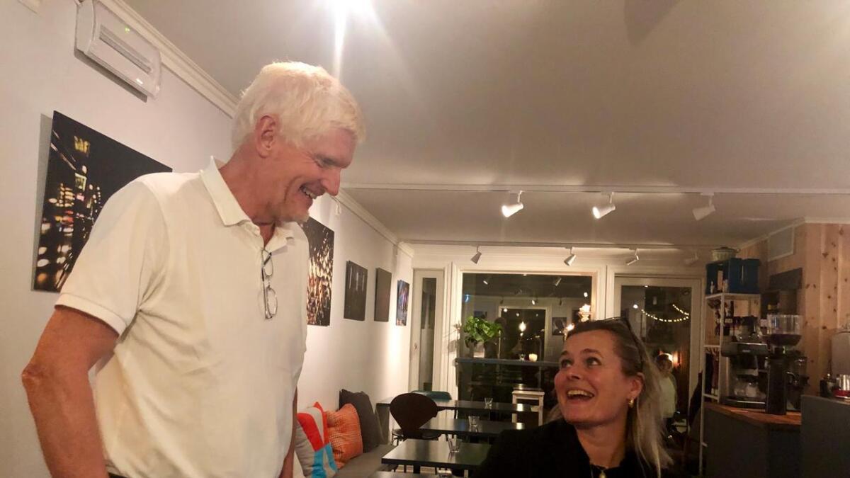 Arbeiderpartiets Leif Vagle og Cecilie Knibe Kroglund er håpefulle med tanke på forhandlingene fremover.
