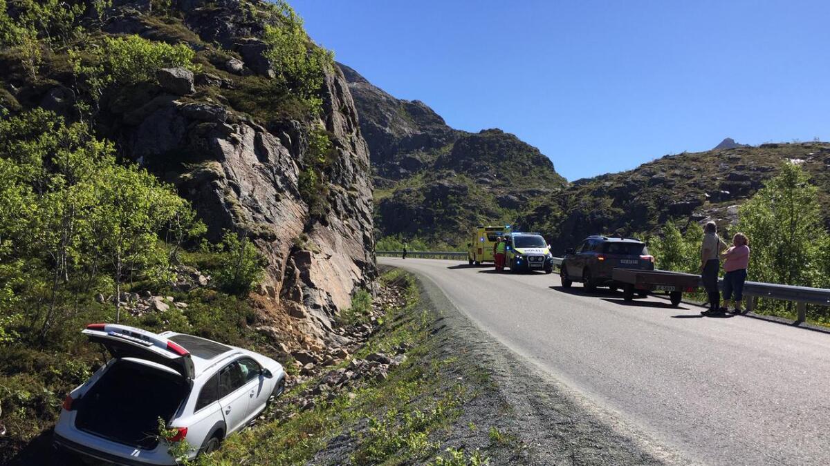 Utforkjøring i Ryggedalen i Bø.