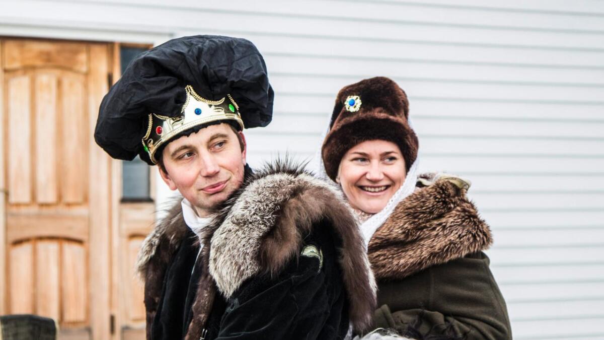 Sigbjørn Rognebakke og Randi Beate Haug er mellom dei som er med og spelar i filmen.